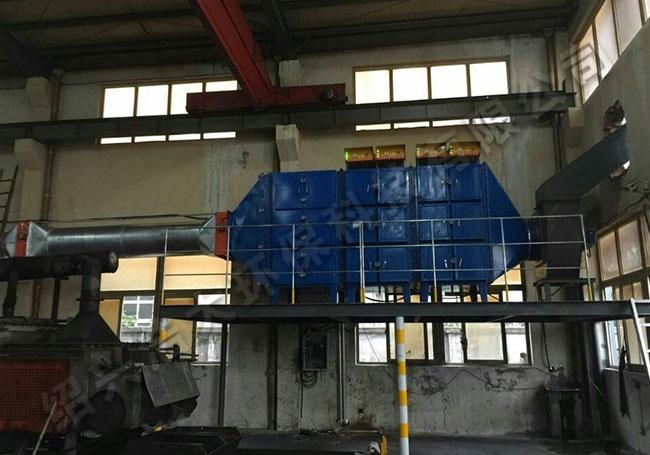 广东水喷淋+热处理油雾收集器