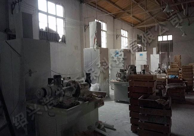 陶瓷厂粉尘收集除尘器