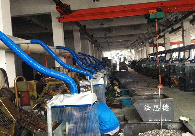 集中式搓丝机油雾净化收集系统