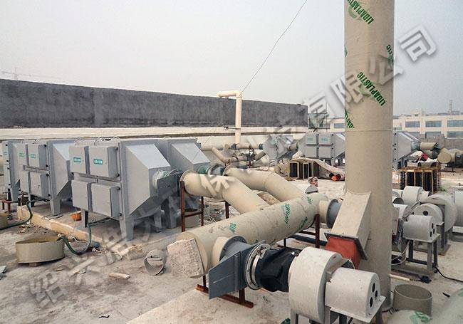 真空泵油雾净化器工程