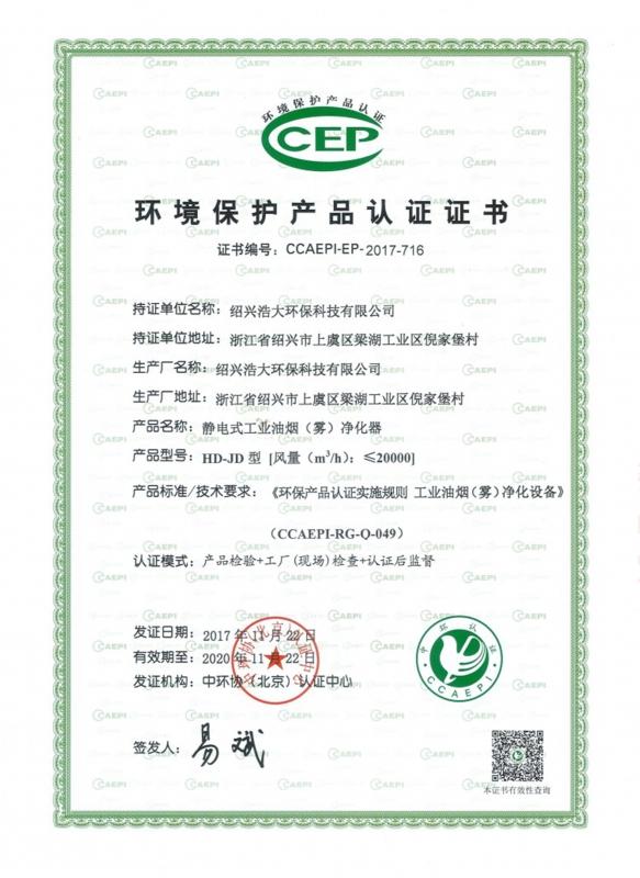 中国环境保护产品